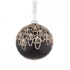 Waterford Black Tie Ball Ornament * Check out this great product. (This is an affiliate link) #HomeDecorTips