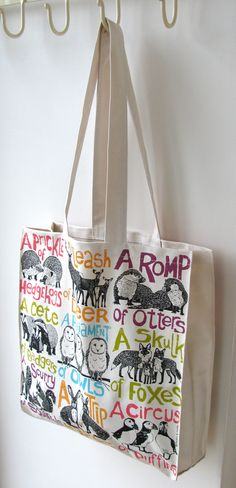 Collective Noun Tote Bag by Perkins & Morley