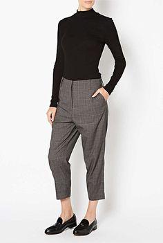 Women's Cargo, Palazza & Ponte Pants - Witchery - Check Pant