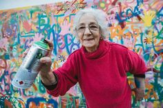 In Lisbon, Portugal a group of notable street artists are teaching 100 senior citizens the art of graffiti. The program, which is called Lata 65, is the result of a collaborative effort between Cowork Lisgboa and Wool – Covilhã Urban Art Festival.