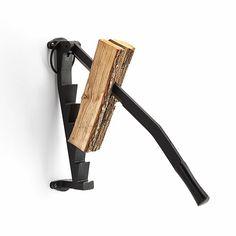 Teilt Scheite bis 40 cm Länge. Klinge nachschleifbar. Gußeisen. Zur Sicherung der Klinge im Ruhezustand mit einem... - Holzspalter Gußeisen