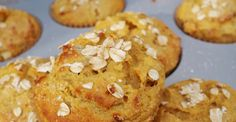 Muffin à l'avoine...fait de compote de pomme ! WOW, vous allez l'adorer - Recettes - Recettes simples et géniales! - Ma Fourchette - Délicieuses recettes de cuisine, astuces culinaires et plus encore!