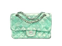 It's nice to see an old friend get some recognition. We're talking about the so lovely mint green color. We've enjoyed mint green for years, even when the taste. Chanel Bag Black, Fashion Bags, Fashion Accessories, Bag Illustration, Watercolor Illustration, Illustrations, Fashion Design Drawings, Printed Bags, Fashion Prints