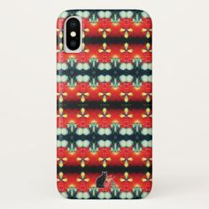 """Transendentals KCFX iPhone X Case. 50% OFF Cases – Use CODE: NEWYEARSTYLE until Midnight 1-1-18. Express your own unique style by protecting your valuable phone in this exotic case from a parallel universe that is extraordinarily symmetrical. No one else you know will have an iPhone case with this design. The origination image is from my Kinetic Collage """"Sweet Dreams"""" series. Over 3000 products at my Zazzle store. Open 24/7 World Wide! Beautiful items made just for you and shipped to your…"""