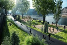 In Paris, plans for a Seine Revolution