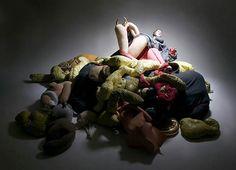 Clarina Bezzola, Inside Out, 2005, Foto: David Byun, Courtesy Galerie Antje Wachs, © Clarina Bezzola