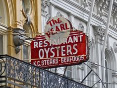 The Pearl, New Orleans, LA ...The Pearl Restaurant and Oyster Bar, 119 Saint Charles Avenue, New Orleans, Louisiana. Serving up Cajun favorites since the 1920s!