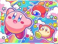 Kirby, Waddle Dee y Waddle Doo