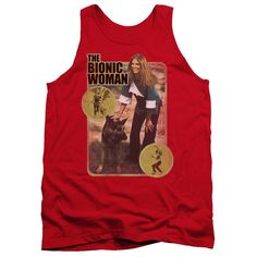 """Checkout our #LicensedGear products FREE SHIPPING + 10% OFF Coupon Code """"Official"""" Bionic Woman / Jamie And Max - Adult Tank - Bionic Woman / Jamie And Max - Adult Tank - Price: $29.99. Buy now at https://officiallylicensedgear.com/bionic-woman-jamie-and-max-adult-tank"""