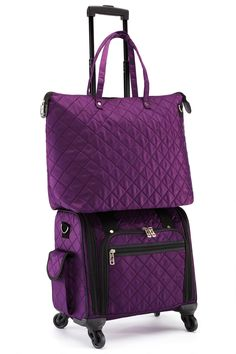 Oh My God Purple Mike Customize Casual Portable Travel Bag Suitcase Storage Bag Luggage Packing Tote Bag Trolley Bag