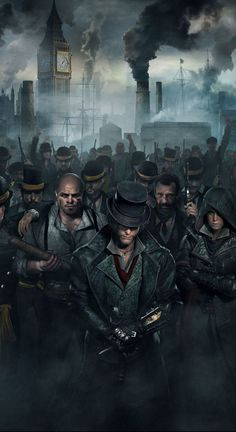 Assassin's Creed Syndicate learned from it's predecessors and managed to produce a quality game. But gamers would need something special to rally behind Assassin's Creed games again after so many mediocre showings. Assasin Creed Unity, Arte Assassins Creed, Asesins Creed, All Assassin's Creed, Playstation, Xbox, Assassin's Creed Wallpaper, Wallpaper Ideas, Hd Wallpaper