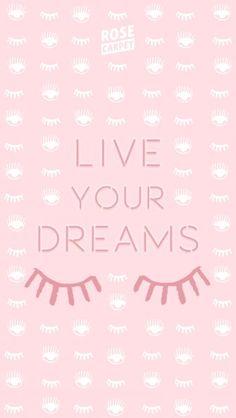 fond d'écran Rose Carpet Live your Dreams IPHONE6+
