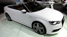 2015 Audi A3 TFSI S-Line Cabriolet - Exterior and Interior Walkaround - ...
