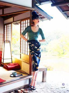 Soft Focus | Varvara Shutova by Troyt Coburn for Marie Claire Austrália September 2013