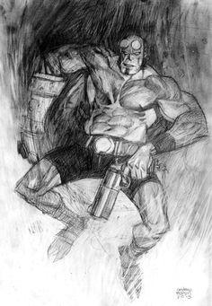 Hellboy by Andrew C. Robinson