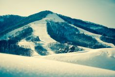 Madarao Mountain winter ski and snowboard playground in the heart of Snow Country in Nagano, Japan