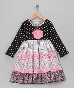 Take a look at this Party in Paris Katie Dress - Infant, Toddler & Girls by Sage & Lilly on #zulily today!