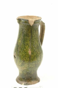 Baluster jug,  late 13th-mid 14th century | Museum of London