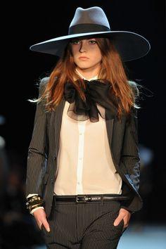 Saint Laurent S13...love the hat...
