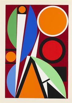 Auguste Herbin, Ohne Titel, 1957