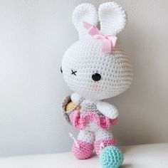 Amigurumi Bunny Pattern by pepika on Etsy