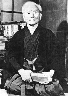 Master Gichin Funakoshi, the creator of Shotokan Karate, the most widely practiced style of karate in the world.