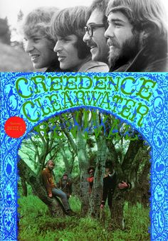 """Creedence Clearwater Revival's self-titled debut album was released on July 5, 1968. Their first single, """"Suzie Q"""", was released a month earlier and reached #11 on the U.S. Pop Singles Chart."""