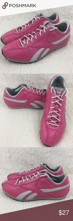 6dcb1f7c8948b Reebok Womens Size 6 Shoes Athletic Leather Pink Reebok Womens Size 6 Shoes  Athletic Shoes Leather