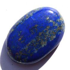 Benefits Procedure of wearing Lapis Lazuli Oval Cabochon Loose Gemstone 24*16mm #lapis