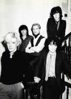 Japan | band | David Sylvian | Steve Jansen | Mick Karn | Rob Dean | Richard Barbieri | 1980 | Unknown photographer