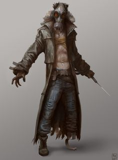 Post Apocalyptic Character Concept