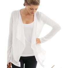 The White Company - Waterfall Linen Cardigan