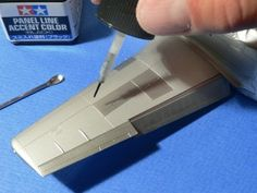 USING TAMIYA PANEL LINE ACCENT COLORS