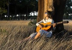 I LOVE playing my guitar outside.