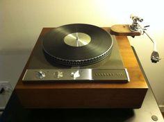 Garrard 401 Turntable. #recordplayer #turntable #music http://www.pinterest.com/TheHitman14/the-record-player-%2B/