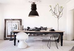 #eclectic #modern apartment #dining_room by Olsson & Jensen