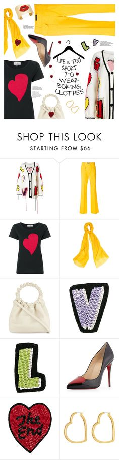 """🌼 Life is too short.. 🌻"" by sara-cdth ❤ liked on Polyvore featuring Philosophy di Lorenzo Serafini, Talbot Runhof, Vivienne Westwood, WtR, The Row, Olympia Le-Tan, Christian Louboutin, Henri Bendel, Thalia Sodi and winterscarf"