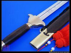 Stainless Steel Heaven & Earth Wushu Jian Sword WJ321