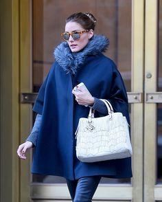 Olivia Palermo in #cateye dalle lenti specchiate, bellissima! #Streetstyle  photo Bullspress