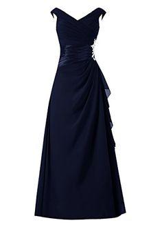 Dresstells® A Line Chiffon V Neck Prom Dress with Appliques Bridesmaid Dress Evening Party Dress Dresstells http://www.amazon.co.uk/dp/B013USHAP6/ref=cm_sw_r_pi_dp_-rlEwb0YTH5K1