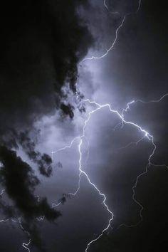 Imagem de sky, lightning, and storm