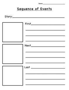 Printables Sequence Of Events Worksheet lets think sequence of events activities for teaching pdf more
