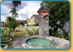 Pozo or Well near the Guest House en Hacienda Yaxcopoil