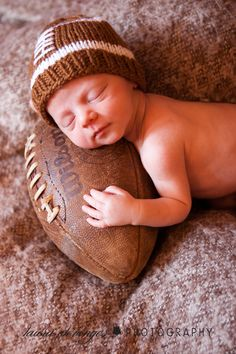 adorable!! Perfect for Super Bowl baby Liam! @jessica reed