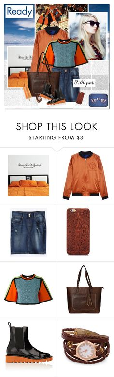 """""""17:00 pm"""" by undici ❤ liked on Polyvore featuring National Geographic Home, Oris, Opening Ceremony, M Missoni, STELLA McCARTNEY and Seletti"""