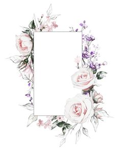 Hottest Cost-Free Purple Flowers frame Thoughts Purple flowers usually are elegant flowers. They are deluxe and extravagant, stylish plus boheme. The next wr Flower Background Wallpaper, Flower Backgrounds, Wallpaper Backgrounds, Iphone Wallpaper, Wallpapers, Motif Floral, Floral Border, Frame Flores, Fond Design