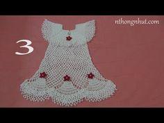 82602a53e5af5 How to Crochet baby party dress (Video One ) - Yolanda Soto Lopez. Emanuel  Dias