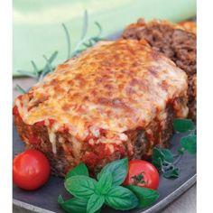 Low Carb Marinara + Mozzarella Meatloaf