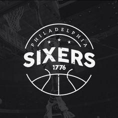 Philadelphia 76ers MinimalistConcept Logo