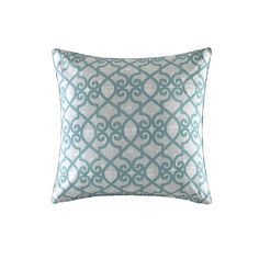Daven Printed Fretwork Outdoor Throw Pillow
